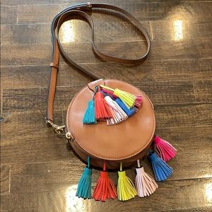 Rebecca Minkoff Sophia Round Leather Crossbody Bag